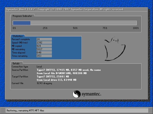 深度技术 Ghost Win7 32位纯净版 v2018.09