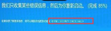 Win8.1蓝屏提示KERNEL SESURTY CHECK FAILURE错误的修复方法
