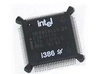 英特尔于1985年发布了第一款32位处理器intel 80386