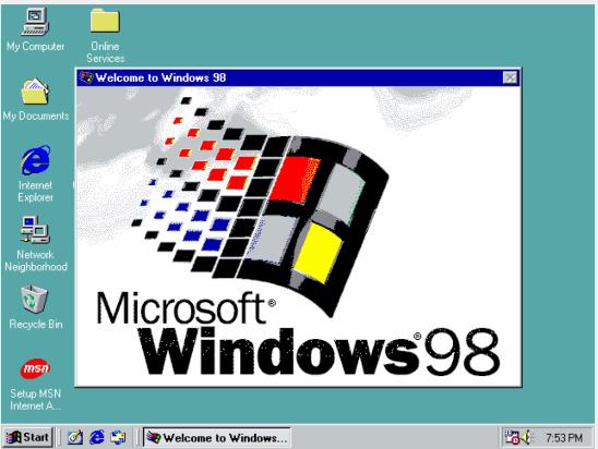 Microsoft 于1998年6月发布Windows 98