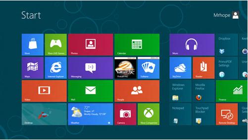 Microsoft 在2012年10月26日发布了Windows 8