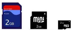 松下、闪迪和东芝开发了SD(安全数码)存储卡格式,并在1999年8月向公众介绍了它