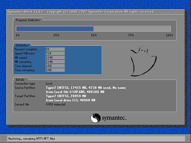 戴尔电脑 GHOST XP SP3 V202102