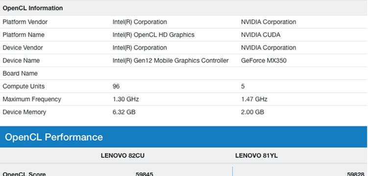 惊喜!英特尔第11代处理器运行曝光,i7 Tiger Lake跑分超越英伟达MX350独显