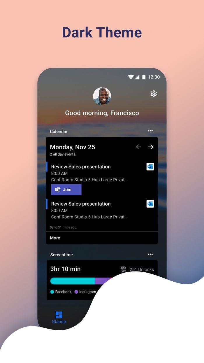 微软日前正式发布 Microsoft Launcher 6.0 版本更新