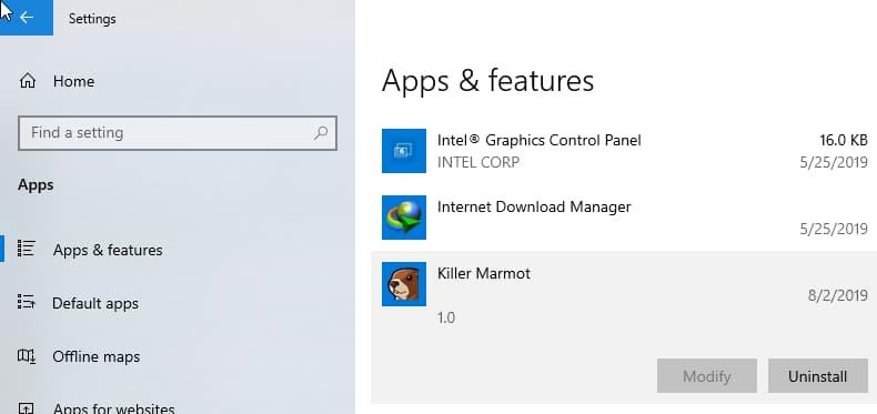 用户或许很快就能从Windows 10中卸载Chrome PWA