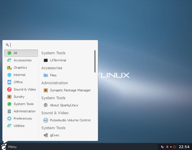 Sparky Linux 5.12 MinimalGUI-32位