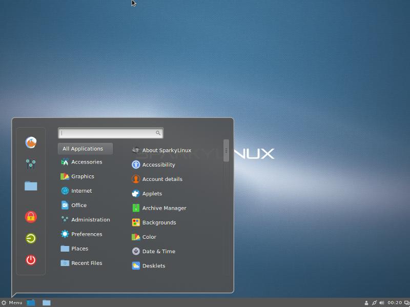 Sparky Linux 5.12 MinimalCLI-32位