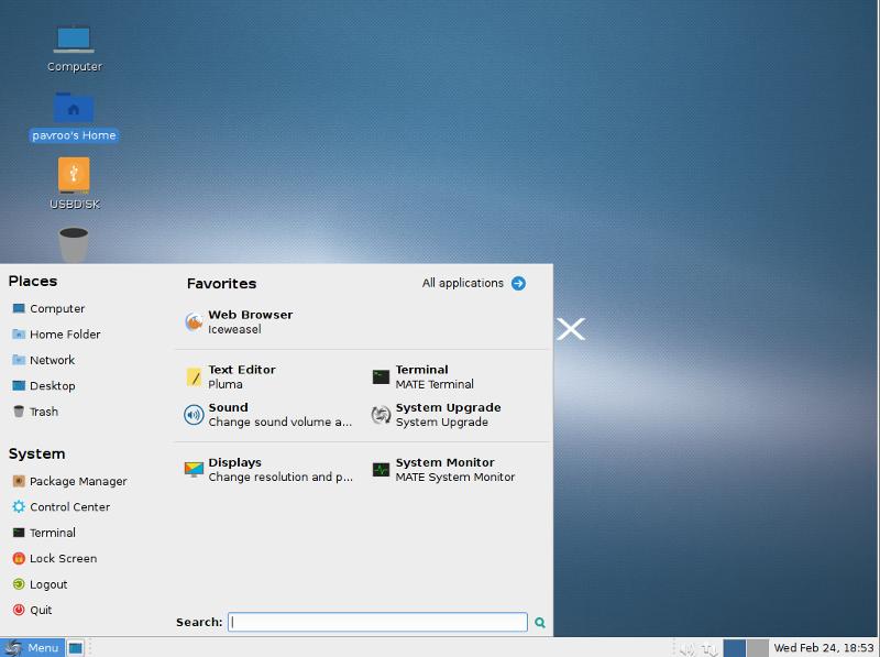 Sparky Linux 5.12 Xfce-64位