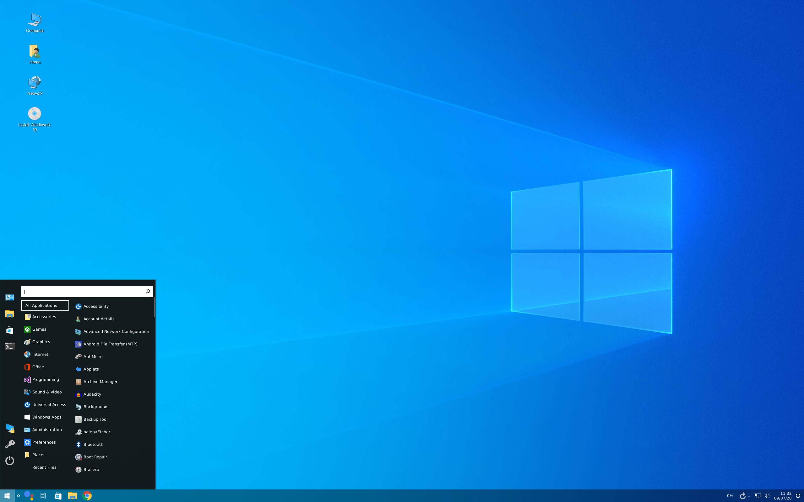 Linuxfx 10.6-Helloa-WX