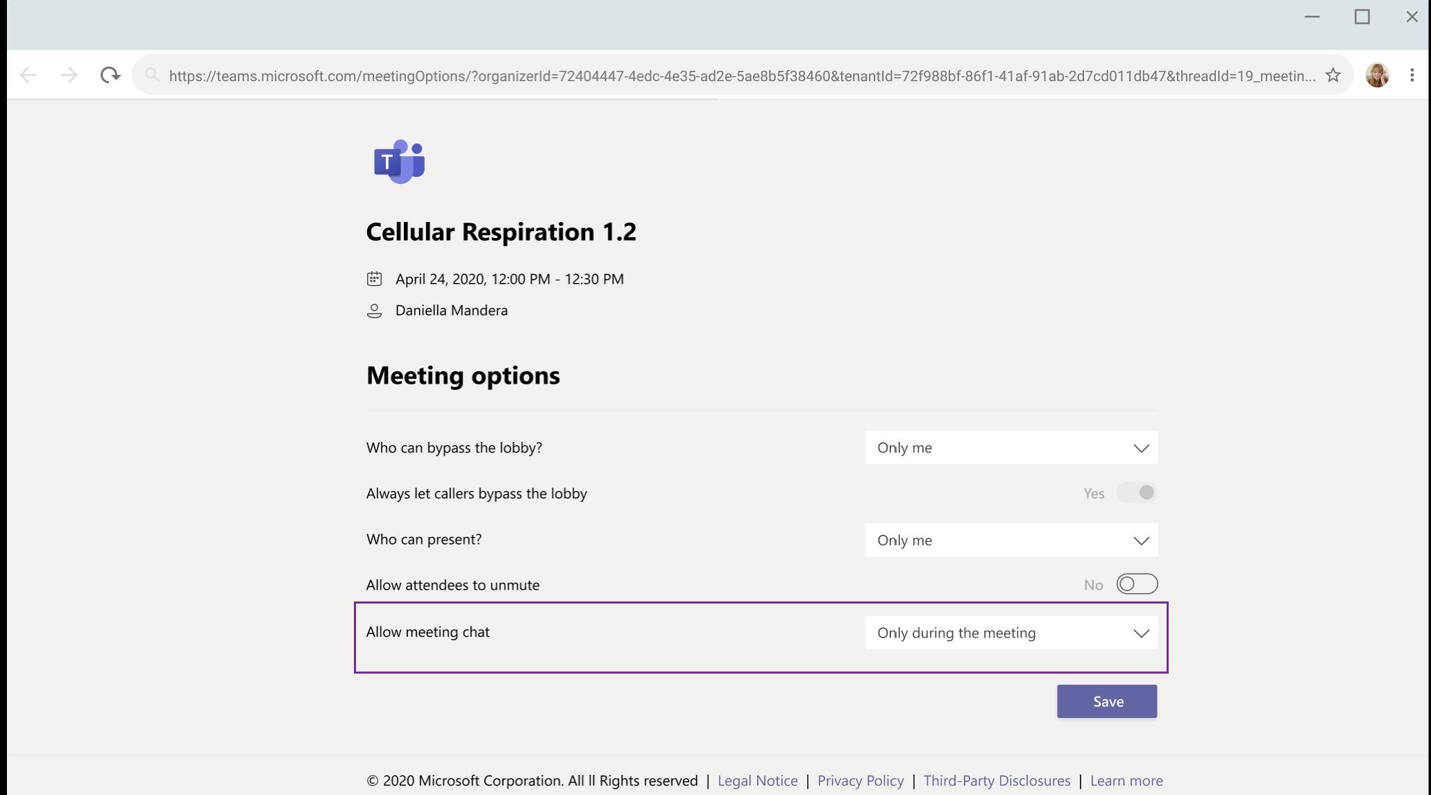 Microsoft将很快允许会议组织者在Teams会议期间使聊天静音