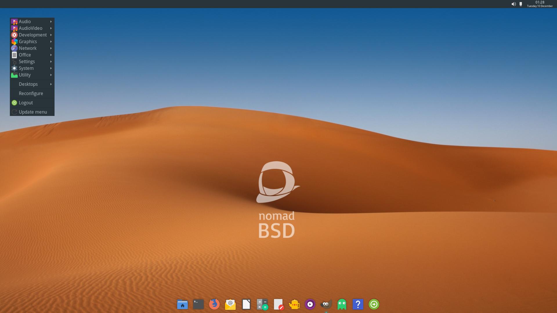 NomadBSD 1.3.2-64位