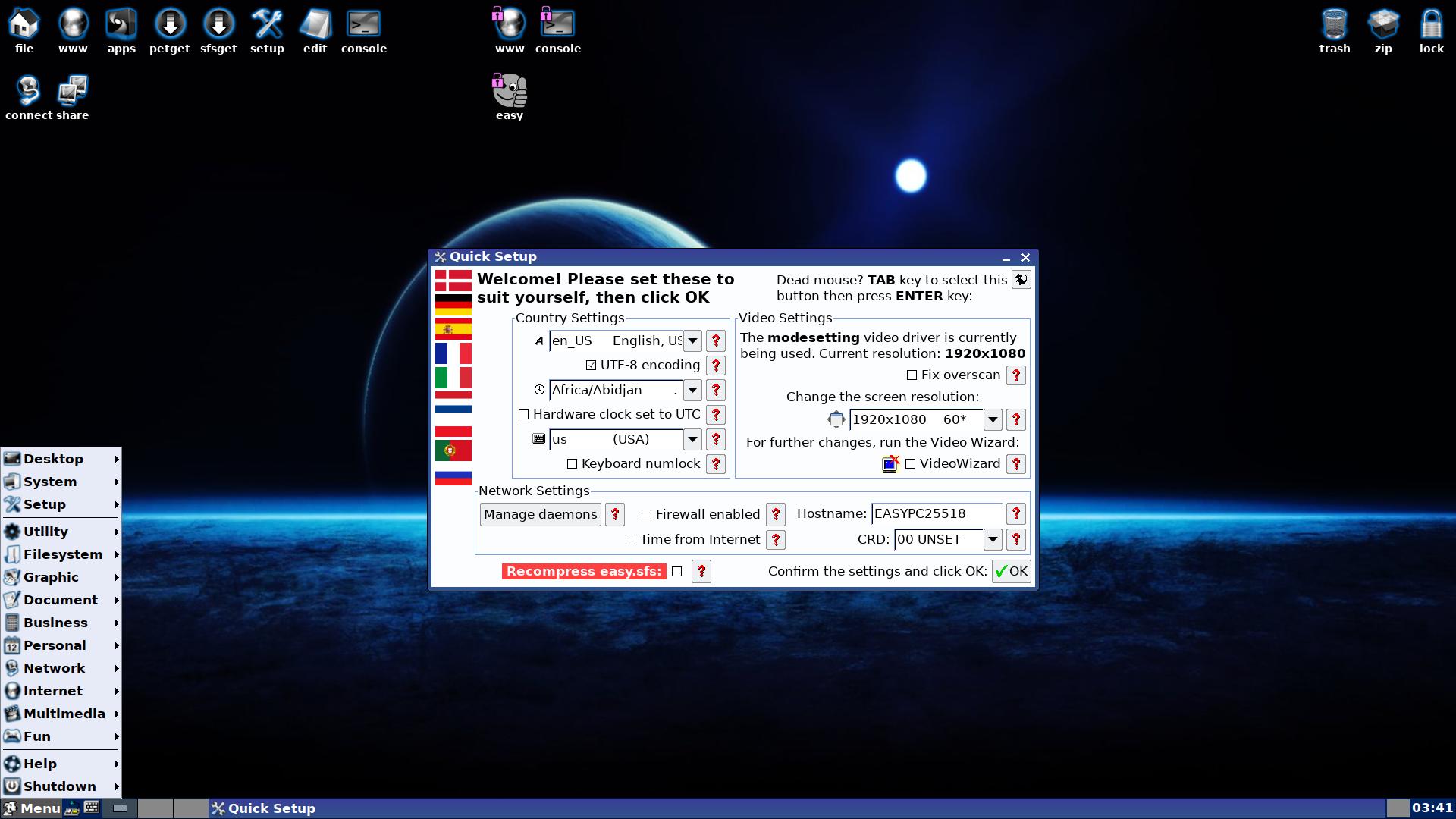 EasyOS 2.5-amd64