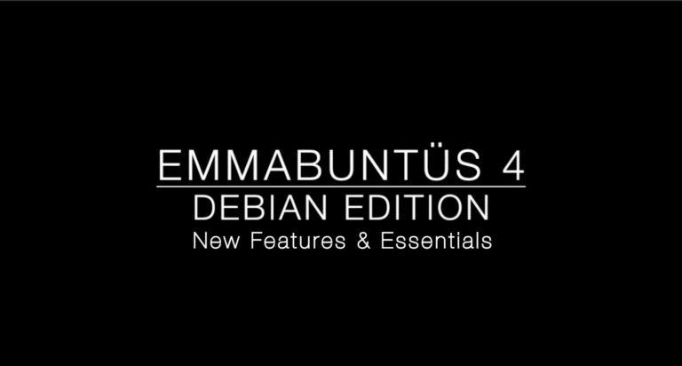Emmabuntüs DE4 Alpha 2
