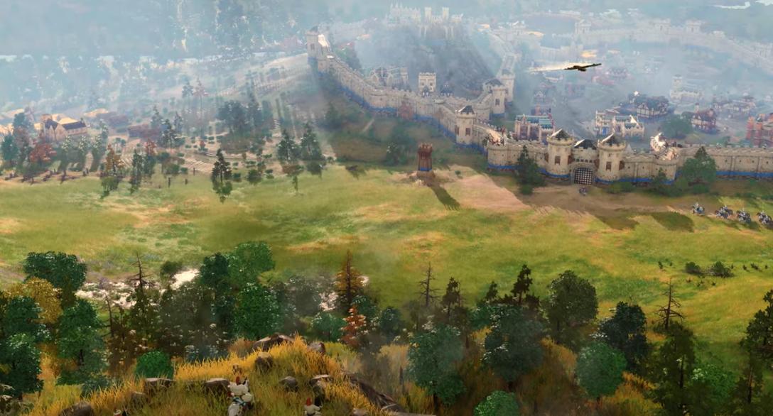 微软将在4月10日直播中展示《帝国时代IV》的游戏玩法