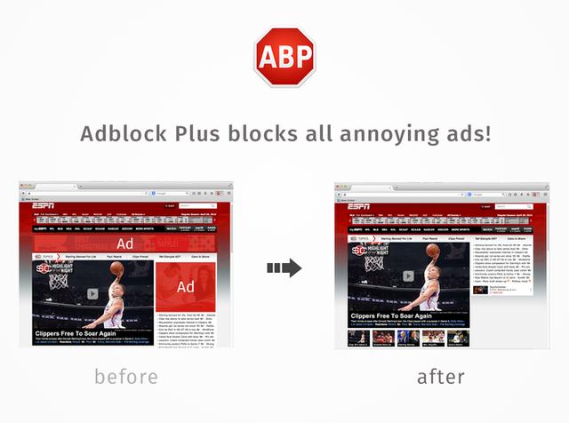 Adblock Plus(广告拦截)