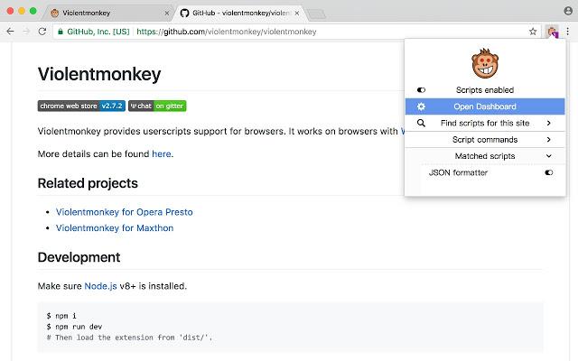 ViolentMonkey(暴力猴)