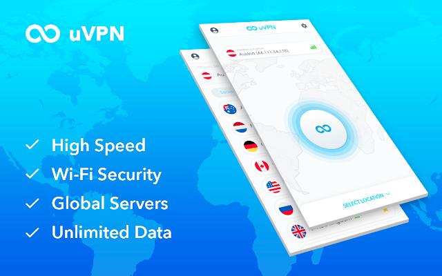 uVPN(为每个人提供免费且无限的VPN)