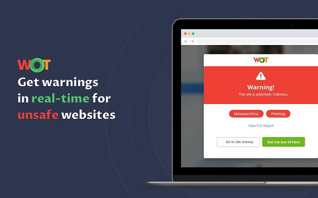 WOT: Web of Trust网站声誉评级