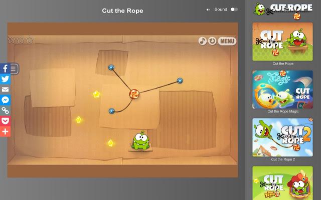 Cut the Rope(割绳子)