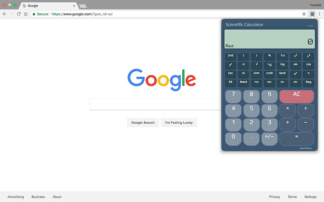 Scientific Calculator(科学计算器)