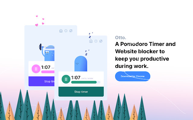 Otto – Pomodoro timer and website blocker