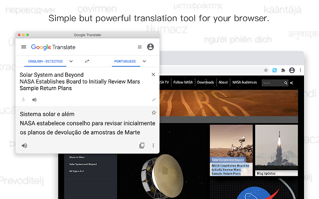 Translator - Select to Translate