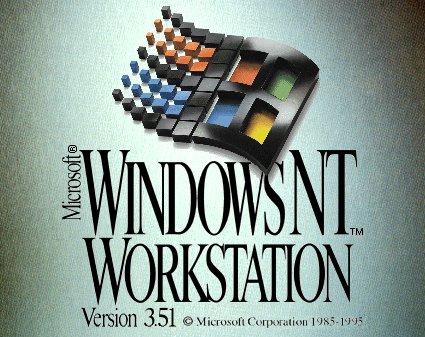 Microsoft 于1995年5月30日发布Windows NT 3.51