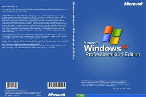 Microsoft于2005年4月24日发布 Windows XP Professional x64