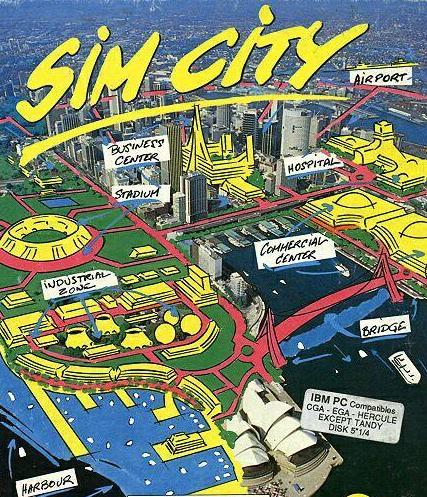1989年10月3日,Maxis工作室发布了《SimCity》(模拟城市)