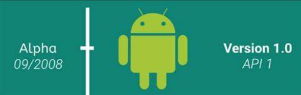 HTC于2008年9月23日发布了HTC Dream,这是首款使用Android操作系统的智能手机