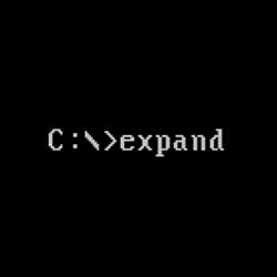 expand(获取压缩的Windows文件)