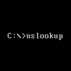 nslookup(查找网络上域或主机的IP)