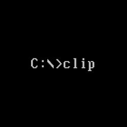 clip(将命令行工具的输出重定向到Windows剪贴板)