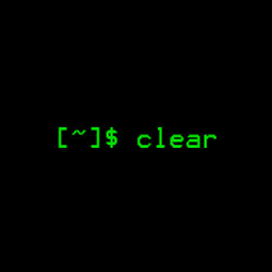 clear(清除屏幕)
