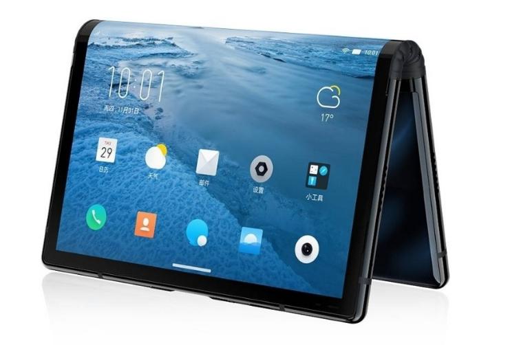 全球首款可折叠柔性屏手机FlexPai(柔派)在2018年10月31日下午召开发布会