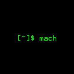 mach(显示当前主机的处理器类型)