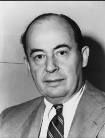 """1945年6月John von Neumann发表名为""""关于EDVAC的报告草案""""的总结报告"""
