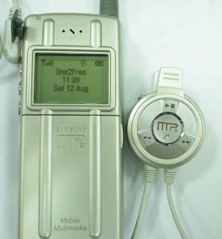 第一款MP3手机 三星SGH-M188在2000年发布