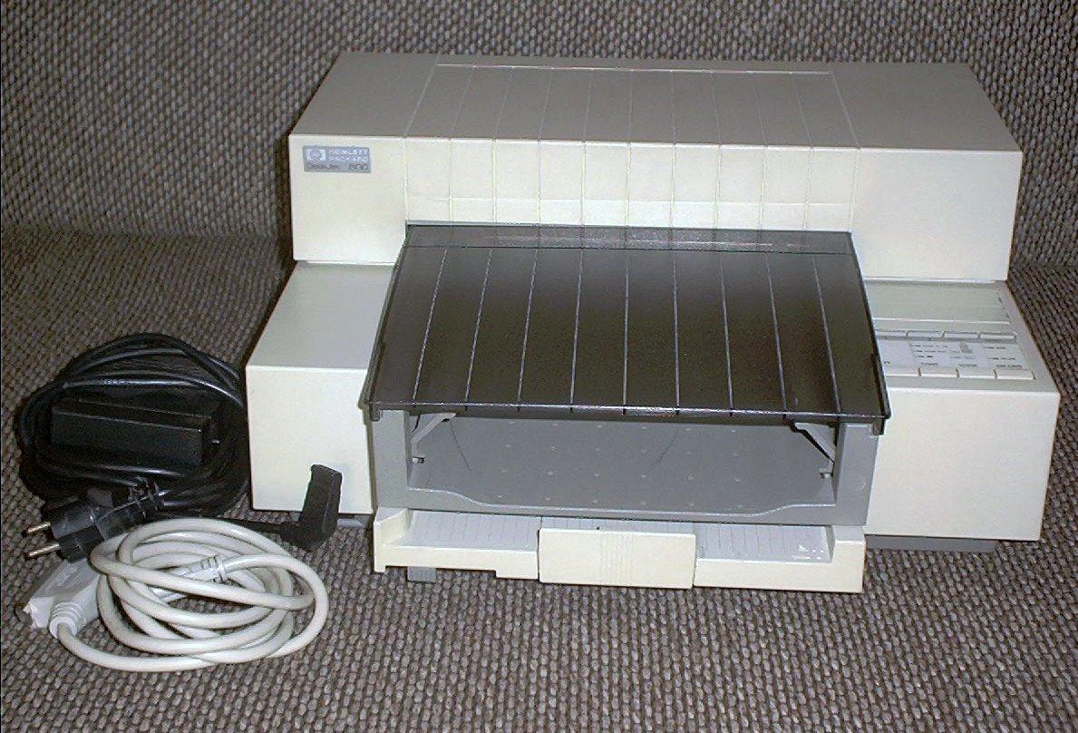 1991年,第一台彩色喷墨打印机、大幅面打印机出现