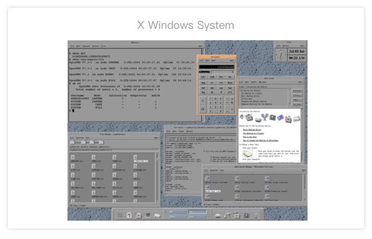 1986年首款用于Unix的窗口系统X Window System发布
