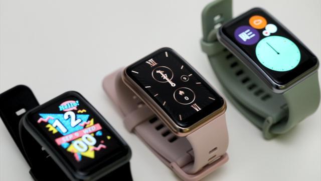 2020年9月10日华为新款智能手表Watch Fit发布