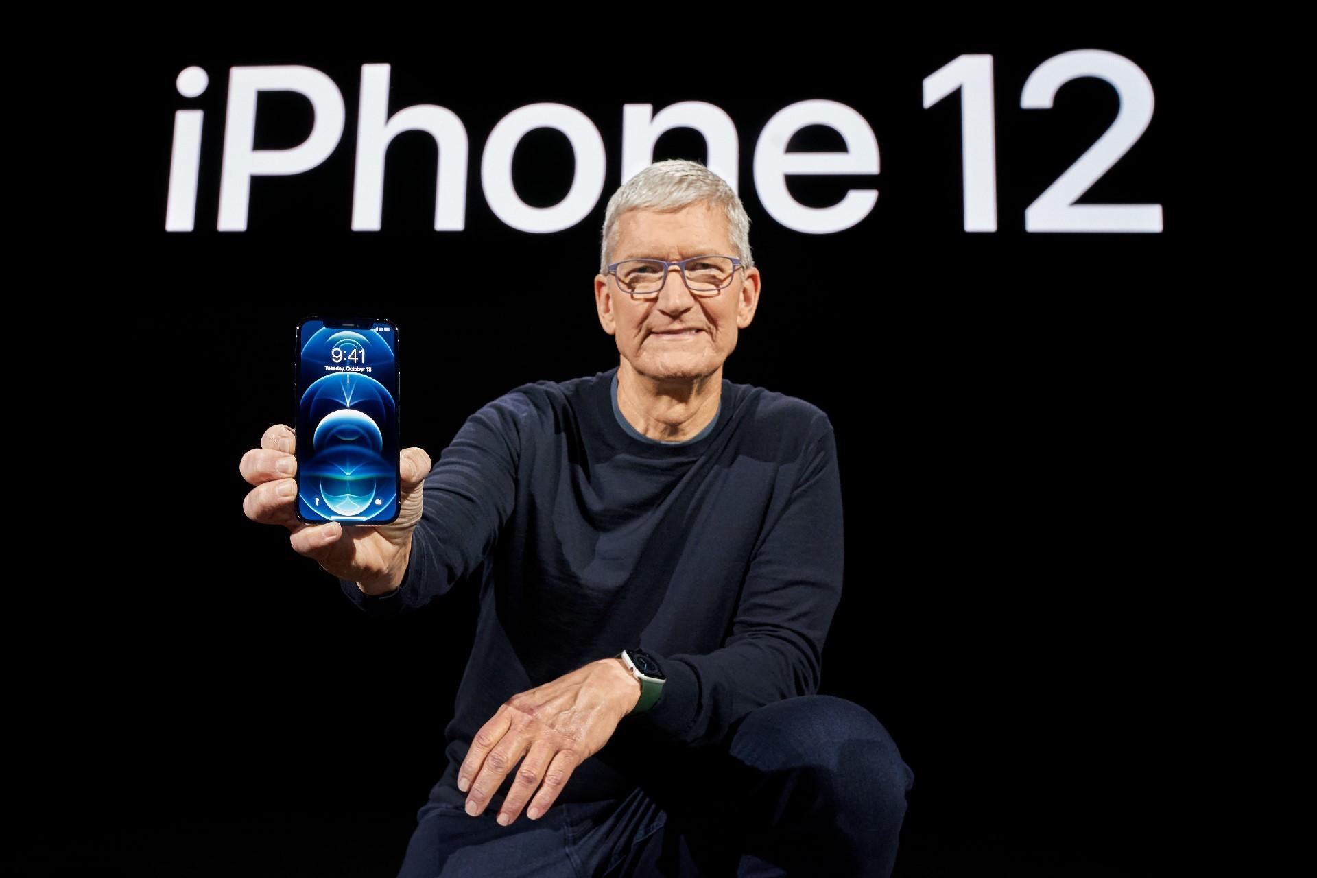 2020年10月14日凌晨,苹果公司正式公布了全新手机产品iPhone 12