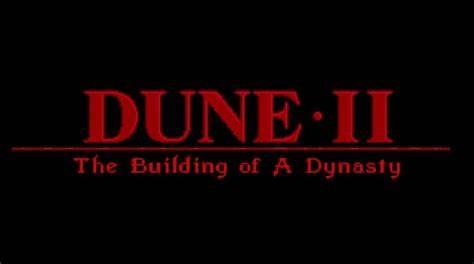 1992年,即时战略游戏鼻祖《沙丘II:新王朝》(Dune II: The Building of a Dynasty)发行