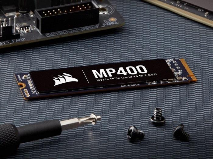 2020年10月10日 ,海盗船发布MP400系列PCle 3.0硬盘,最高8TB
