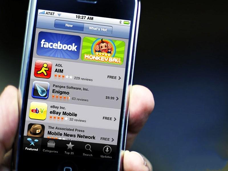 2008年7月10日,苹果公司推出App Store,仅500款App掀起社会热潮