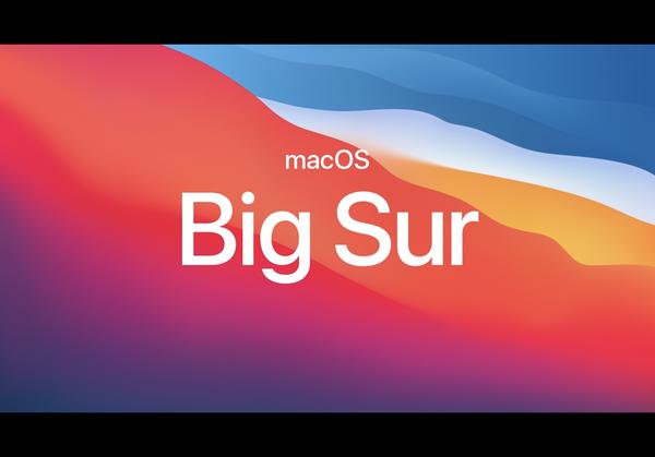 2020年11月13日,苹果推 macOS Big Sur 正式发布,全新的设计风格