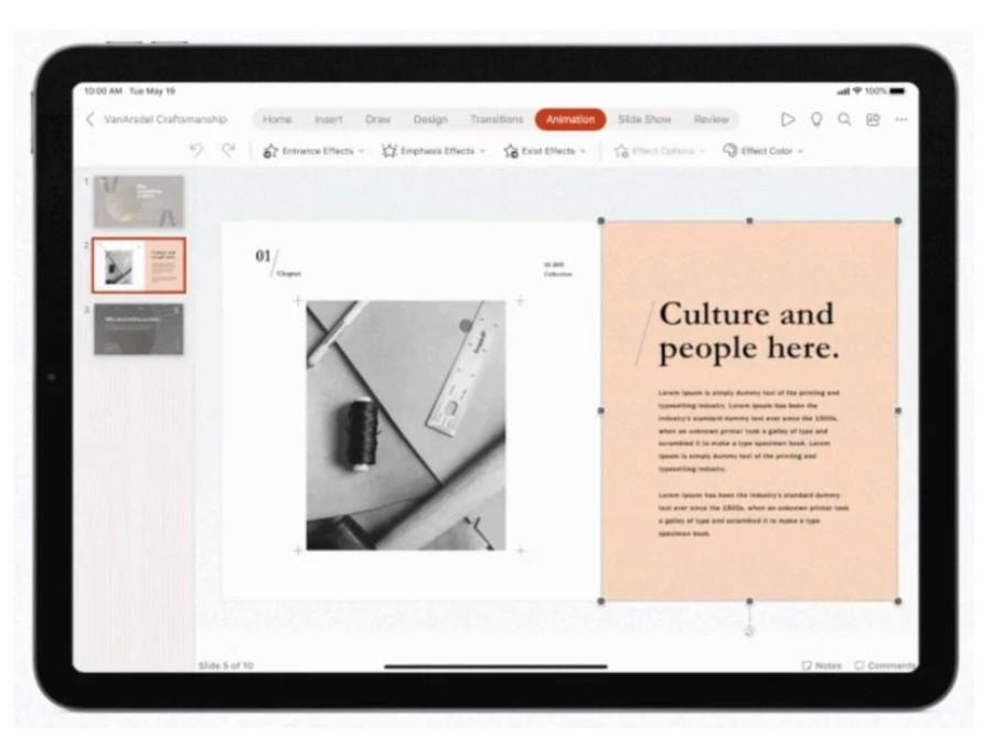2020年10月27日,微软更新苹果 iPad 版 Office 应用程序:支持鼠标和触控板