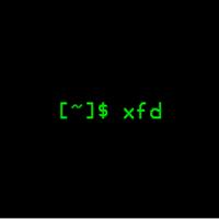 xfd(以指定的X字体显示所有可用字符)