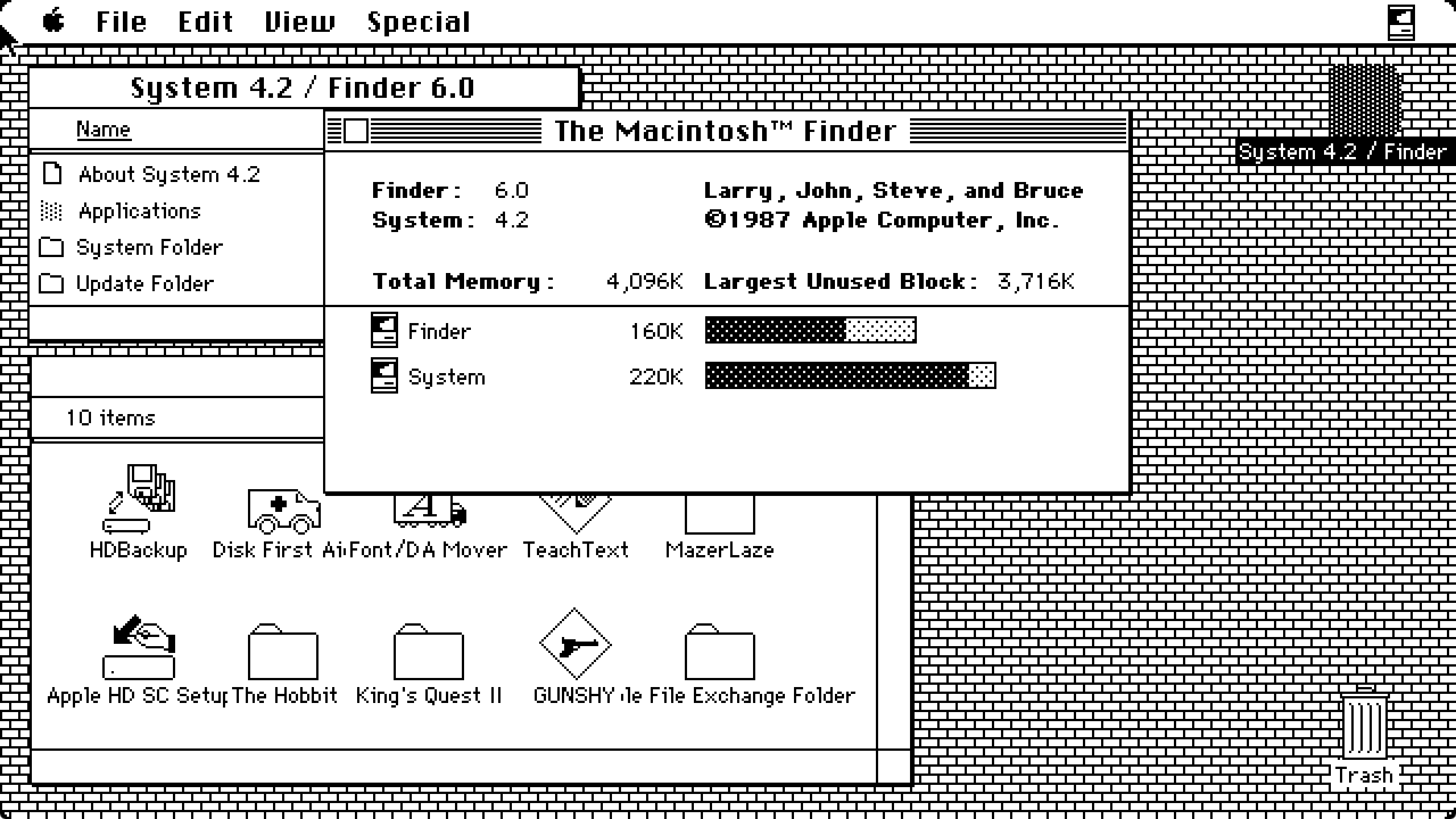 1987年,苹果推出System Software 5,首次作为零售品提供